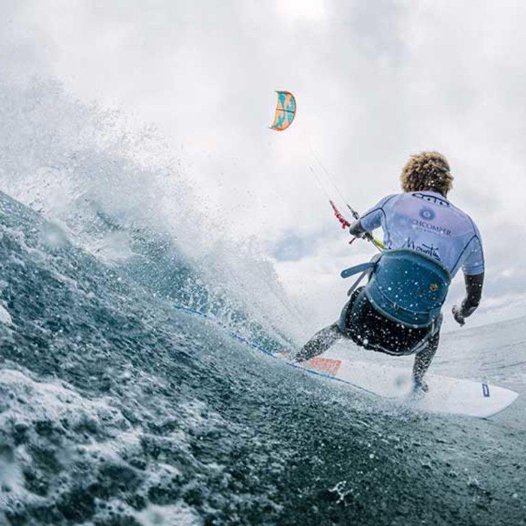 Mitu Monteiro main event GKA Kite-Surf World Tour Mauritius