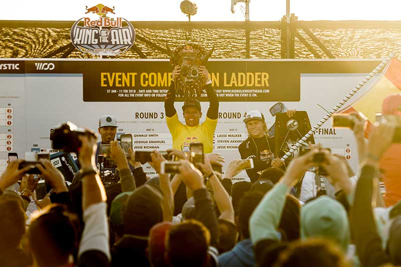 Red Bull King of the Air 2018 winners