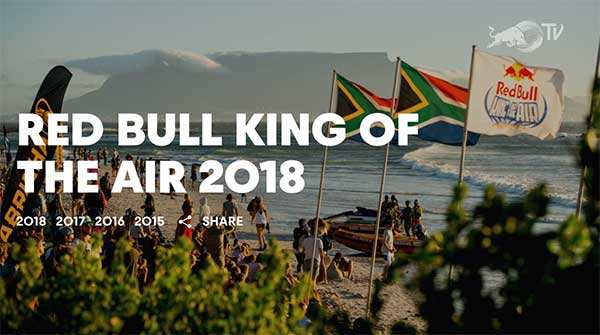 Red Bull King of the Air 2018 livestream