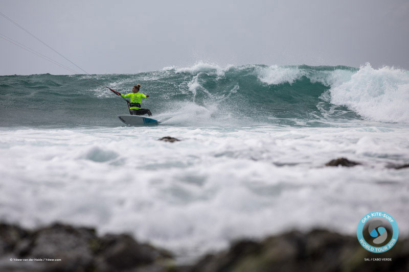 Jalou Langeree GKA kite-surf world tour Cape Verde