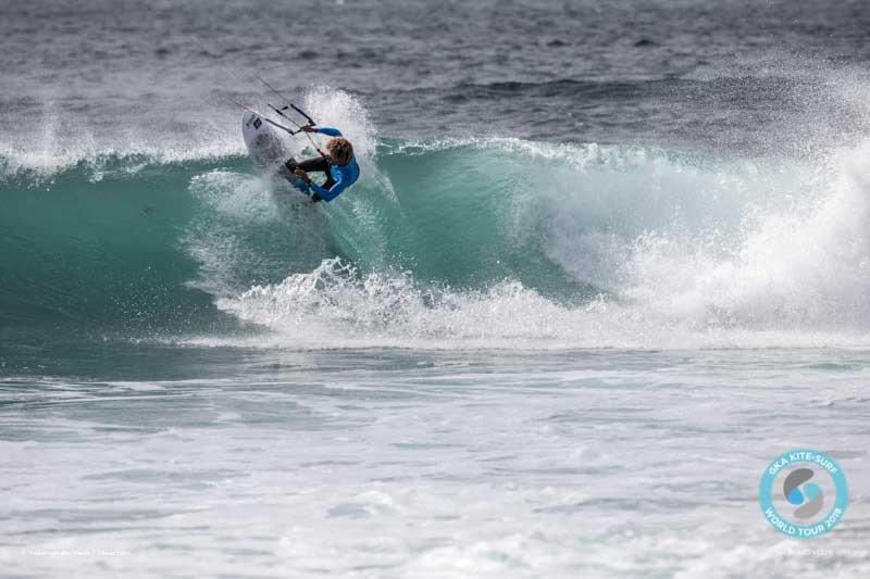 Matchu Lopes competing at the GKA Cape Verde