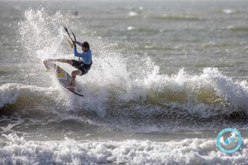 GKA Kite-Surf World Tour Dakhla 2018 Finals - Keahi de Aboitiz