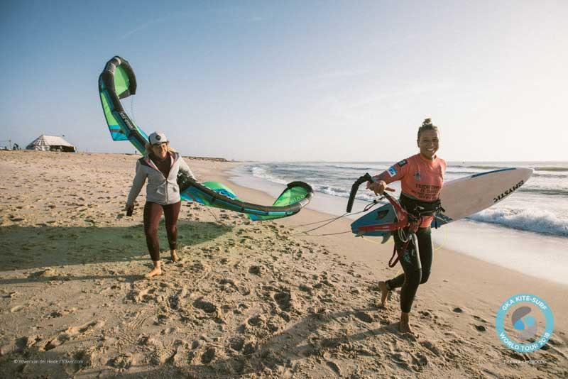GKA Kite-Surf World Tour Dakhla 2018 Finals - Jalou Langeree