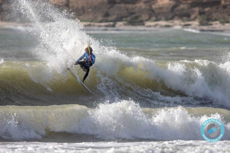 GKA Kite-Surf World Tour Dakhla 2018 Finals - Mitu Monteiro