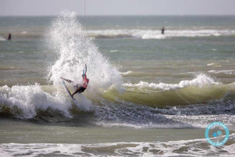 GKA Kite-Surf World Tour Dakhla 2018 Finals - Sebastian Ribeiro