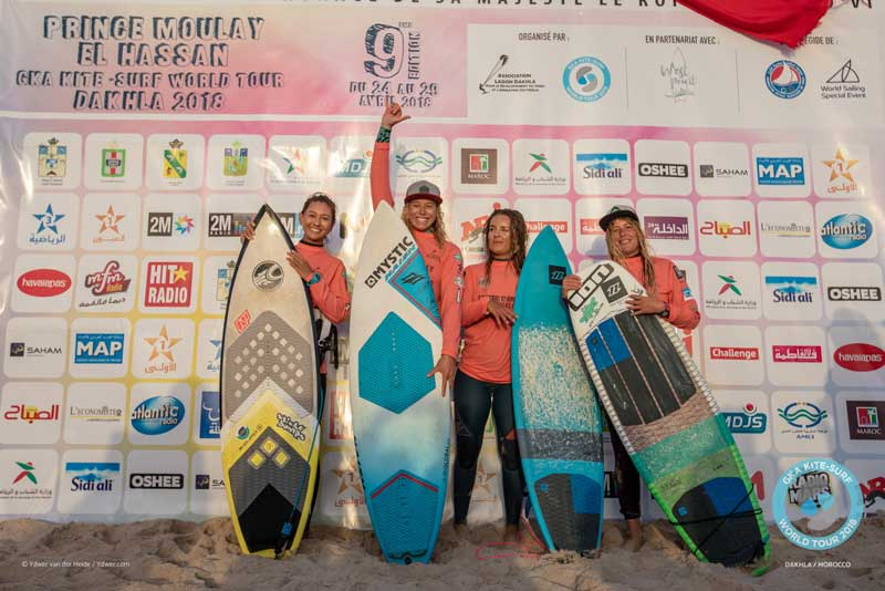 GKA Dakhla Day Two - Single Elimination - Women's Podium