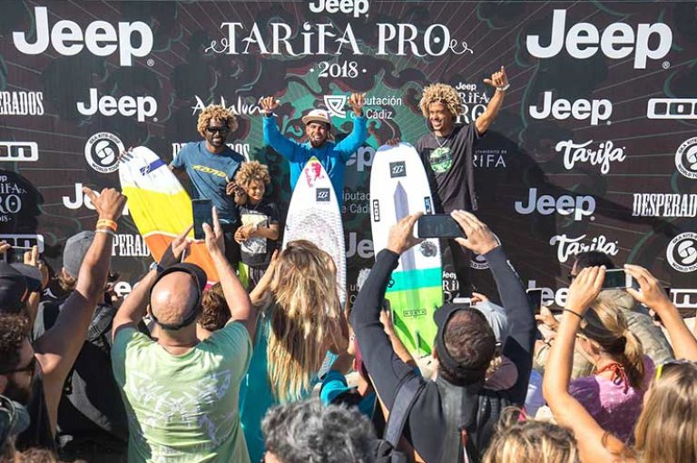 """Image for """"Here Come The Kite Loops!"""" – Jeep Tarifa Pro Day 4"""