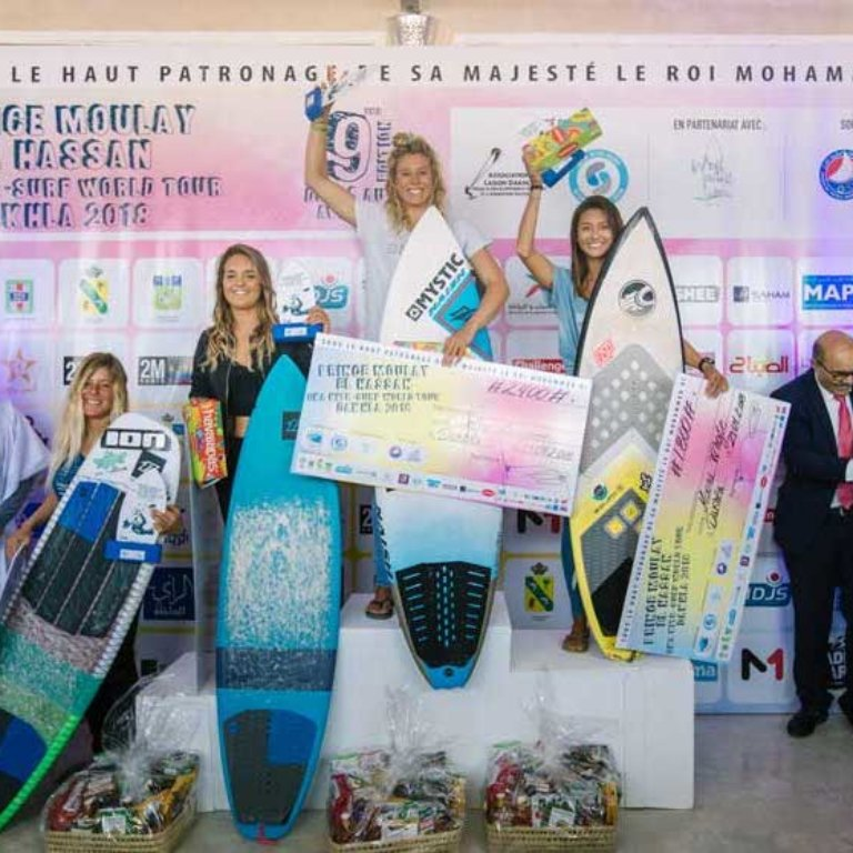 Women's podium Dakhla