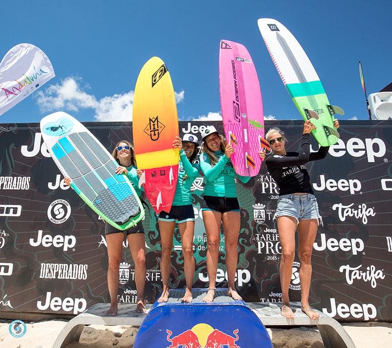 Jeep Tarifa Pro 2018 - KSWT women's finalists