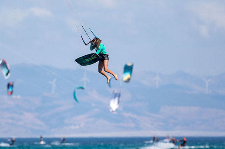Image for Jesse Richman and Mikaili Sol win the Air Games – Jeep Tarifa Pro Final Day