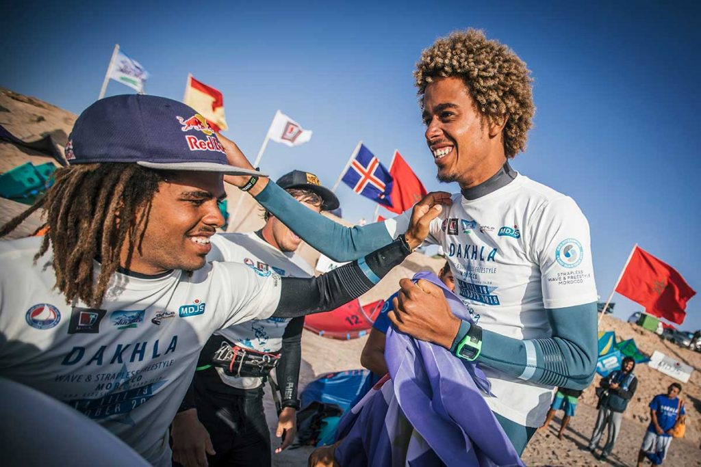 Matchu Lopes 2016 GKA Kite-surf world champion