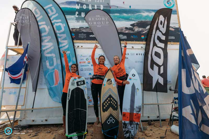 GKA Cape Verde single elimination womens podium