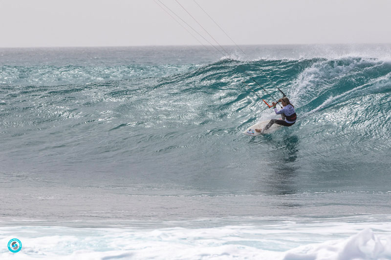 GKA Kite-Surf World Cup Cape Verde 2019 Frances Kelly