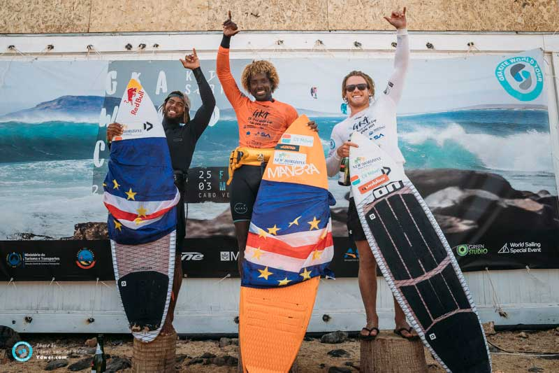 GKA Kite-Surf World Cup Cape Verde 2019 mens podium