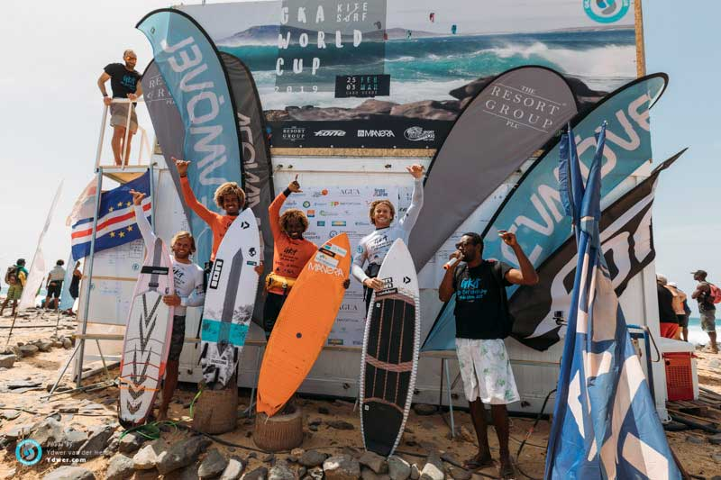 GKA Cape Verde single elimination mens podium