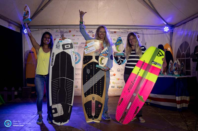 GKA Cape Verde 2019 Super Session Women's Podium