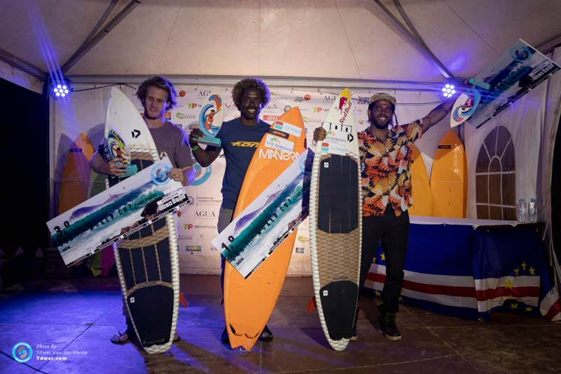 GKA Kite-Surf-World Cup Men's Podium