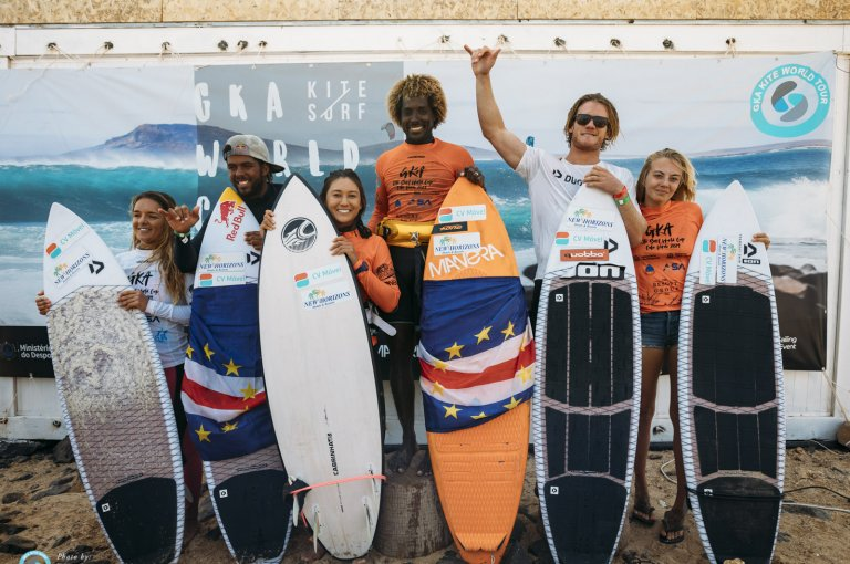 Image for Final standings from the GKA Kite-Surf World Cup Cabo Verde 2019