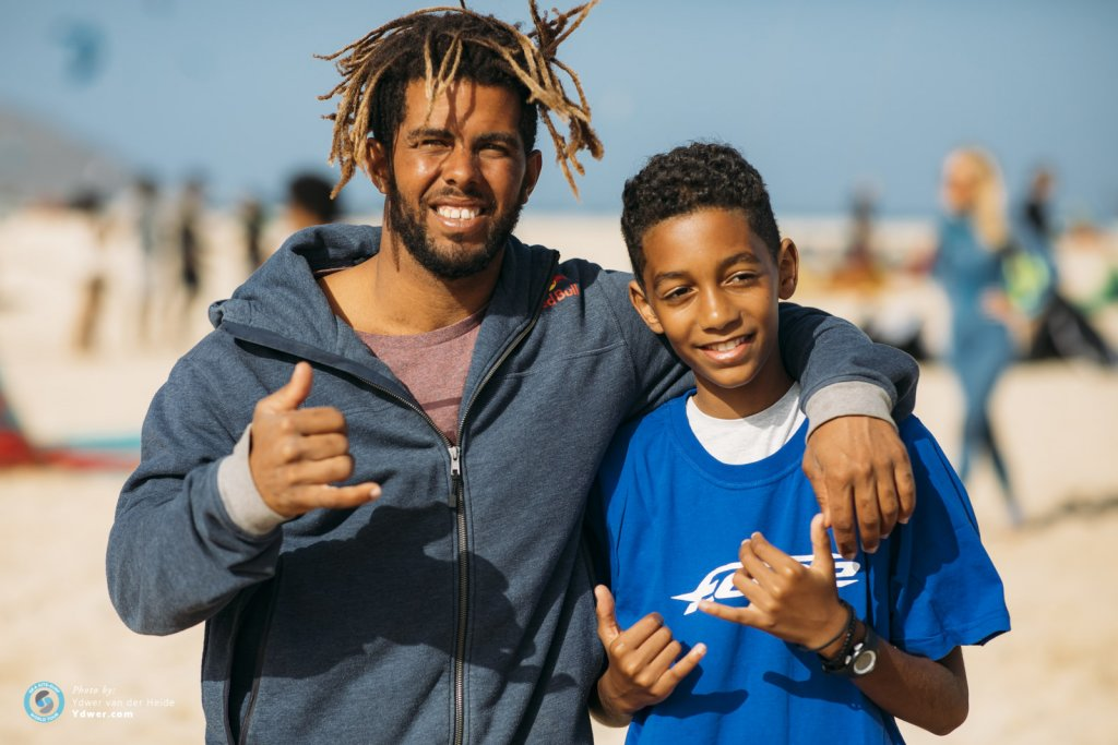 Teaching Kids to Kite in Cabo Verde with the Pros