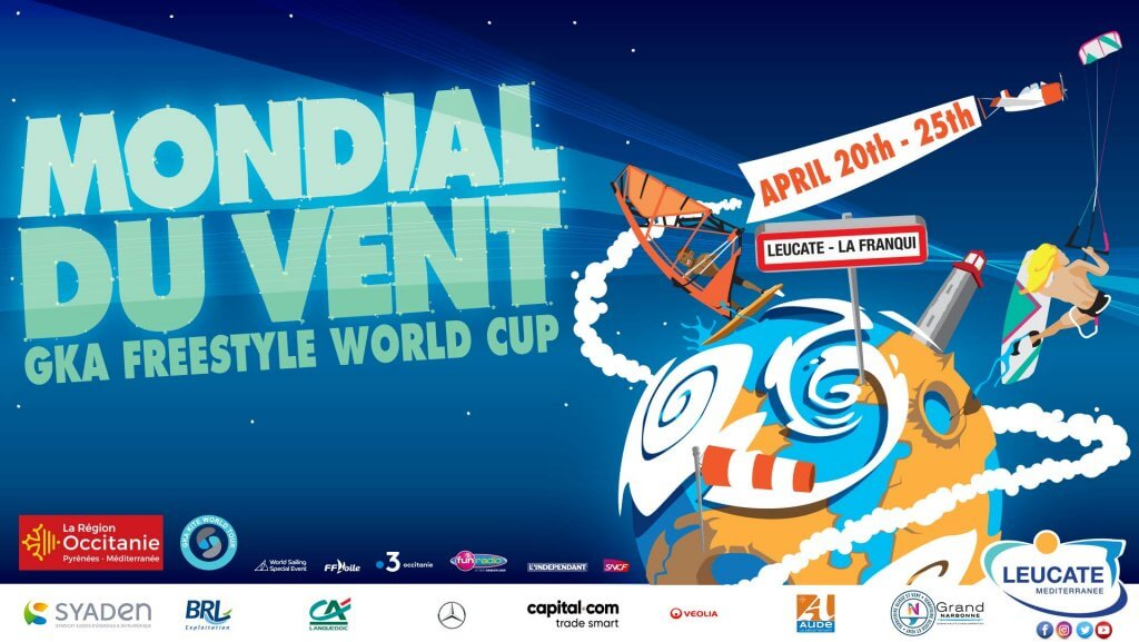 GKA Freestyle World Cup Leucate poster 2019