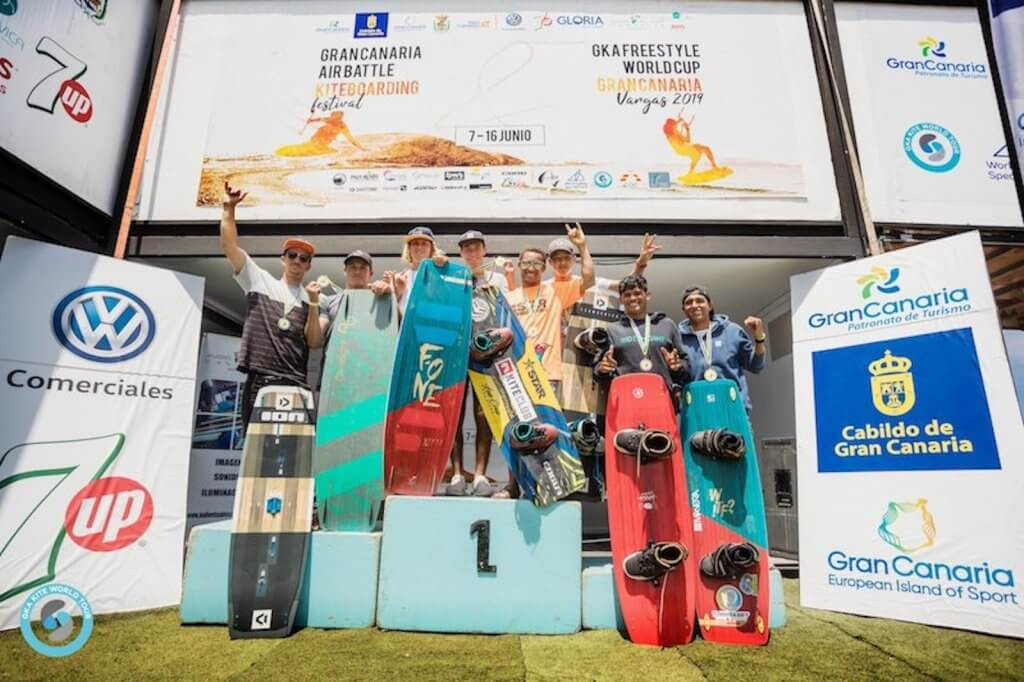 GKA Gran Canaria - Men's Podium