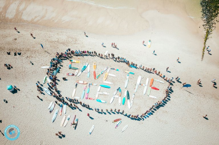 Image for Paddling out for clean oceans – GKA Sylt