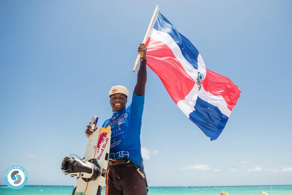 Adeuri Corniel - GKA Fuerteventura Winner