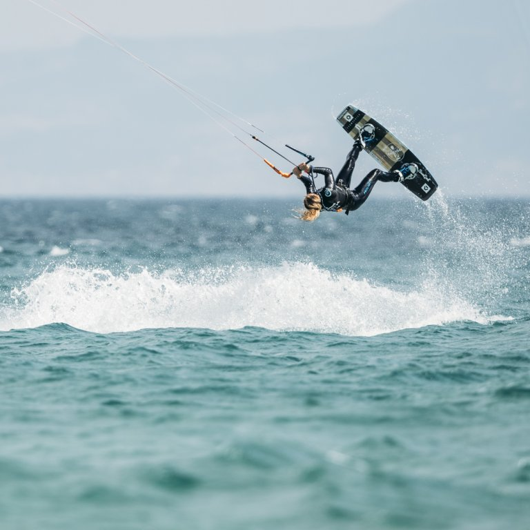GKA Kite World Tour Tarifa Hannah Whiteley