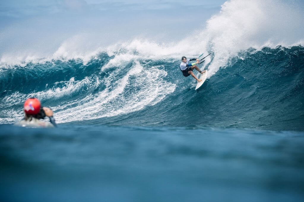 The field is wide open in waves! Riders like South Africa's Oswald Smith can be real players / Photo: Ydwer van der Heide