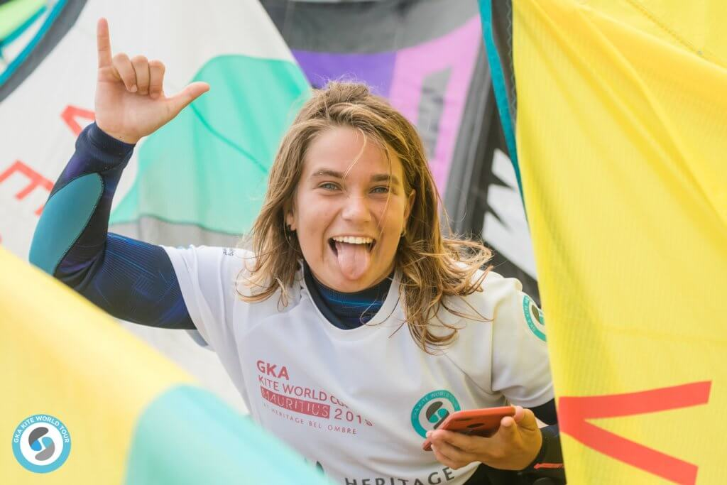 GKA Kite World Tour Freestyle finals Mauritius