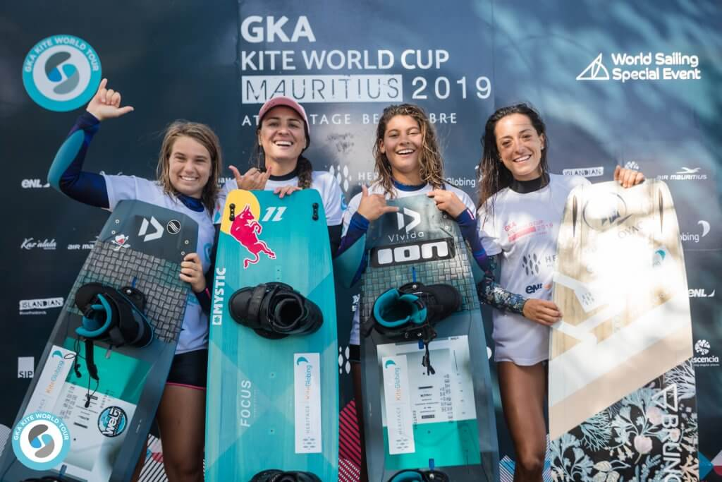 GKA Kite World Tour Freestyle finals Mauritius