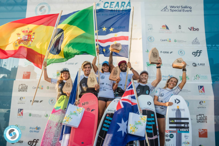 Image for Airton and Mikaili are the Ceara Kite Pro Champions!