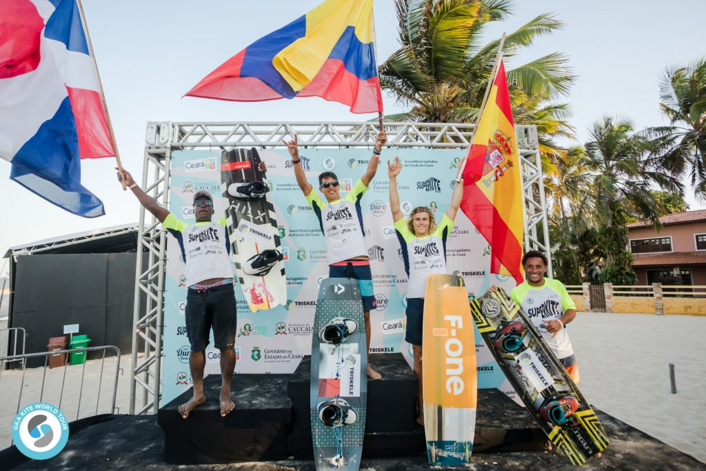 GKA Freestyle World Cup Cumbuco podium
