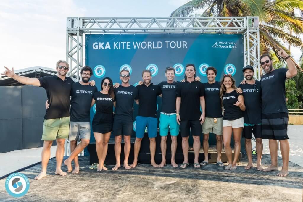 The GKA Kite World Tour Crew