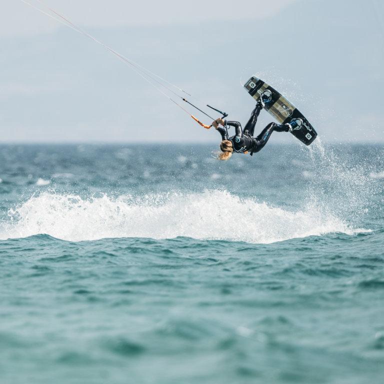 GKA Kite World Tour Tarifa Hannah Whiteley