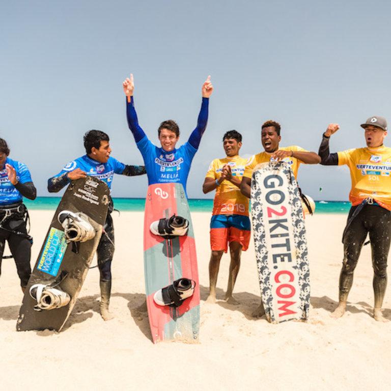 GKA Fuerteventura Best Trick Winner - Arthur Guillebert