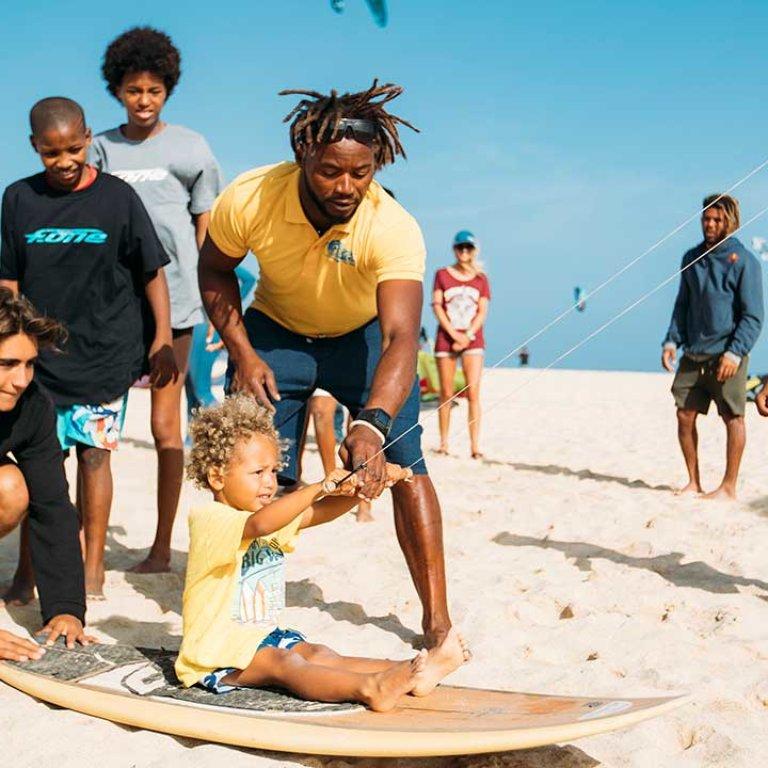GKA Cape Verde kids lessons video