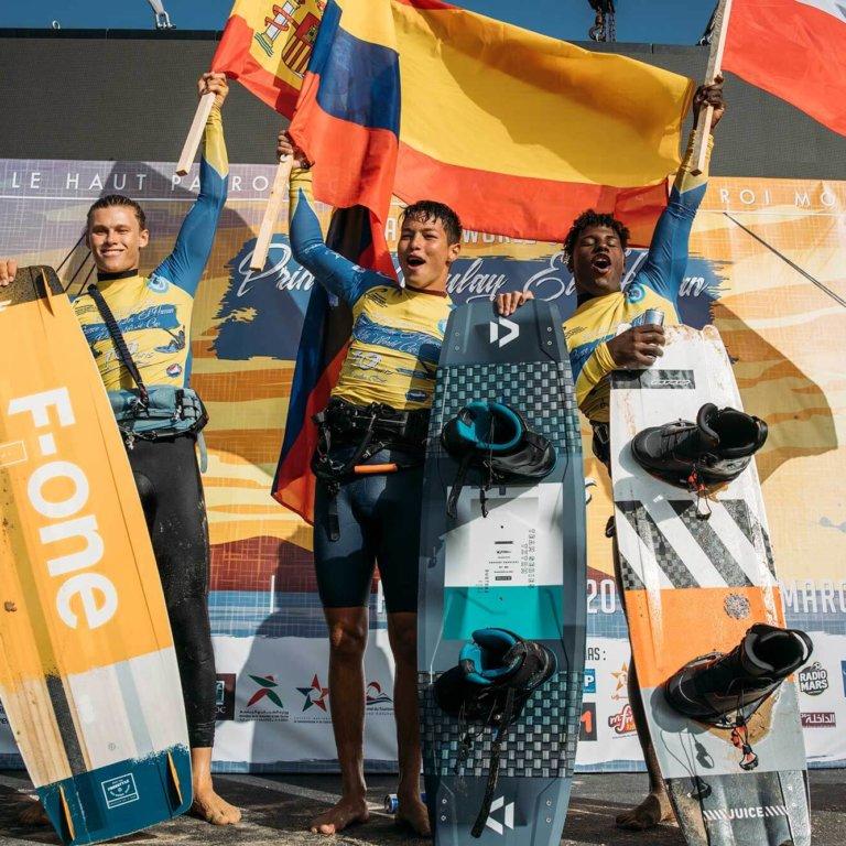 GKA Kite World, Cup Dakhla men's Freestyle podium