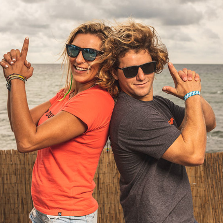 Day one Air Games Germany gallery Jesse Richman and Gina Bihn